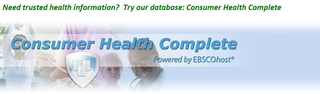 Log into Consumer Health Complete with your library card